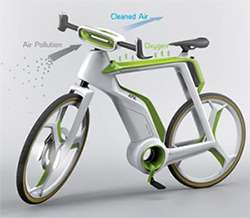 Air Purifier Bikeche