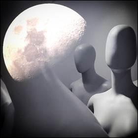 I manichini Helga e Zohar intorno alla Luna per misurare gli effetti delle radiazioni cosmiche ricevute dagli astronauti durante un viaggio circumlunare